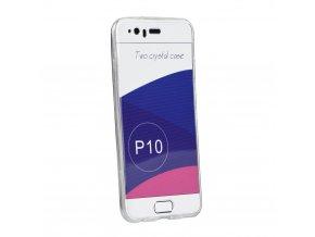 Silikonové pouzdro 360 Full Body přední + zadní Huawei Mate 10 LITE transparent