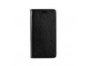 Pouzdro Magnet Flip Wallet Book pro LG K8 2017 černé