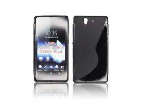 Pouzdro Back Case Lux - Sony L36i Xperia Z černé