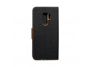 Pouzdro Canvas Mercury Book - Samsung Galaxy S9 Plus černé