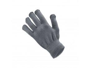 Rukavice pro dotykové obrazovky (pro muže, 22x12 cm) - šedá