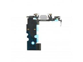 """Flex Kabel konektoru nabíjení pro Apple iPhone 8 (4.7"""") vč. mikrofonu - bílá"""