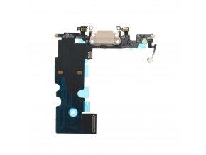 """Flex Kabel konektoru nabíjení pro Apple iPhone 8 (4.7"""") vč. mikrofonu - zlatá"""