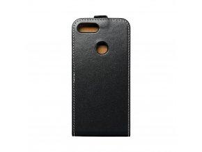 Forcell pouzdro Slim Flip Flexi FRESH pro Huawei P Smart / Enjoy 7s černé