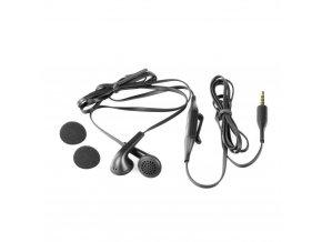 Originální stereo souprava Nokia WH-207 3,5 mm (bulk) černá