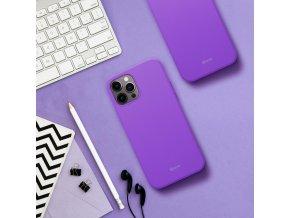 Pouzdro Roar Colorful Jelly Case Huawei P20 - fialové