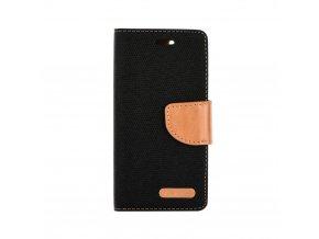 Pouzdro Canvas Mercury Book - XIAOMI Redmi Note 5A Prime černé