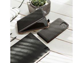 Forcell pouzdro Slim Flip Flexi FRESH pro Huawei P20 černé