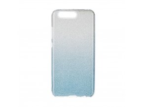 Pouzdro Forcell SHINING Huawei P10 transparentní/modré