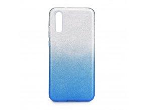 Pouzdro Forcell SHINING Huawei P20 transparentní/modré