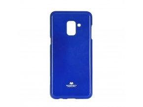 Pouzdro Goospery Mercury Jelly - Samsung Galaxy A8 2018 modré