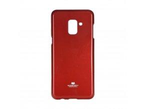 Pouzdro Goospery Mercury Jelly - Samsung Galaxy A8 2018 červené