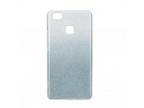 Pouzdro Forcell SHINING Huawei P9 LITE transparentní/modré