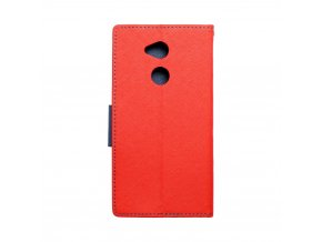 Fancy pouzdro Book Sony Xperia XA2 Ultra červené/granatové