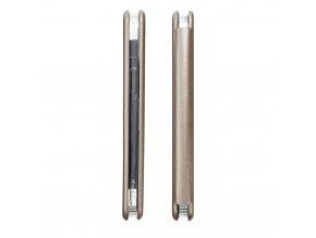 Pouzdro Forcell Book Elegance Huawei P SMART zlaté