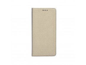 Pouzdro Smart Case Book Huawei Honor 10 zlaté