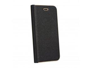 Pouzdro Forcell Luna Book Huawei P20 černé