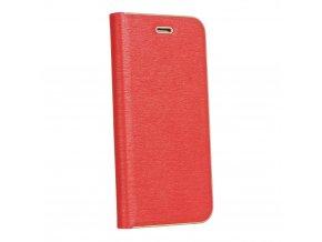 Pouzdro Forcell Luna Book Huawei P20 červené
