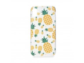 Pouzdro Forcell Summer  PINEAPPLE - ANANAS Huawei Y6 PRIME 2018