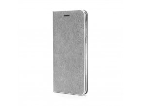 Pouzdro Forcell Luna Book Samsung Galaxysung Galaxy S9 Plus stříbrné