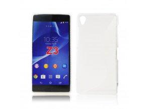 Pouzdro Back Case Lux - Sony D5803 Xperia Z3 compact - transparentní vzor S