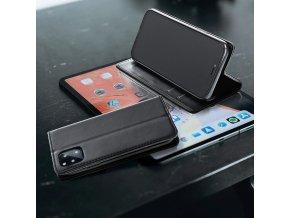 Pouzdro Magnet Flip Wallet Book pro Samsung Galaxy A6 černé