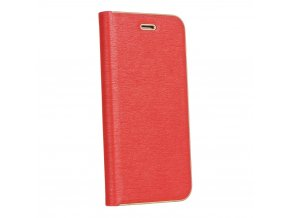 Pouzdro Forcell Luna Book Samsung Galaxy Galaxy A6 Plus červené