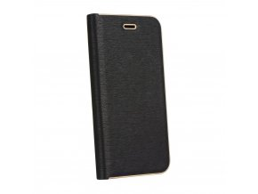 Pouzdro Forcell Luna Book Samsung Galaxy Galaxy A6 Plus černé