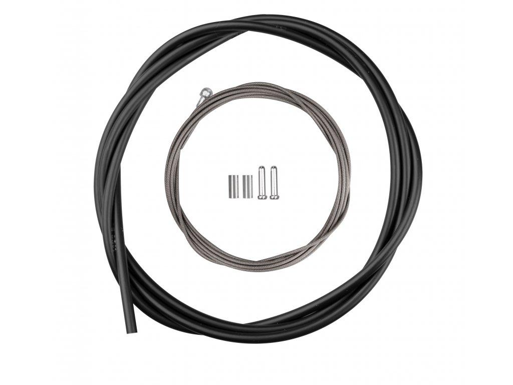 Bowdeny+lanka brzdový set SH DA7800 silniční,černý