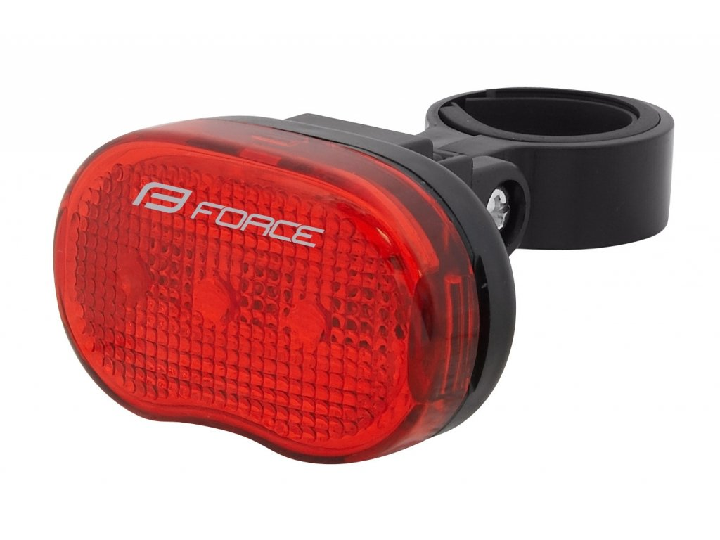 Blikačka zadní Force TRI 3LM 3 LED+ baterie