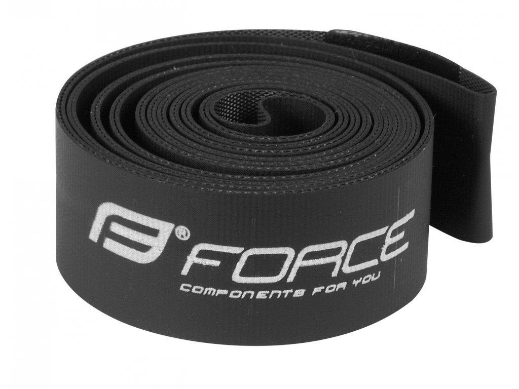 """Vložka ráfková Force 27,5"""" (584-18) krabička, černá"""