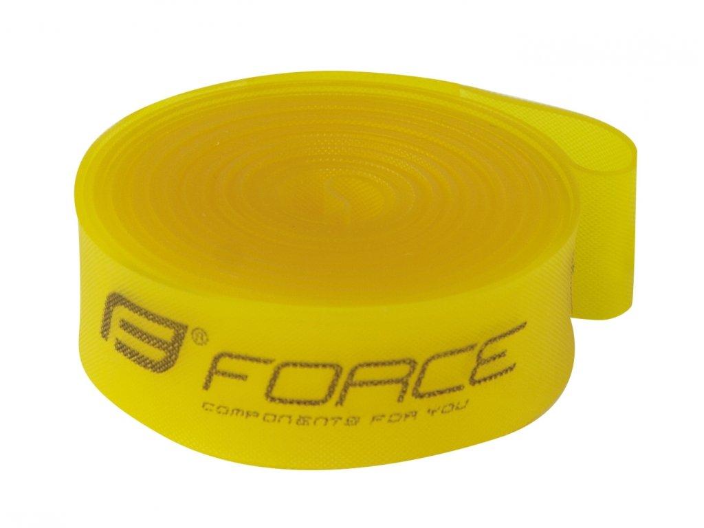 "Vložka ráfková Force 29"" (622-15) krabička, žlutá"
