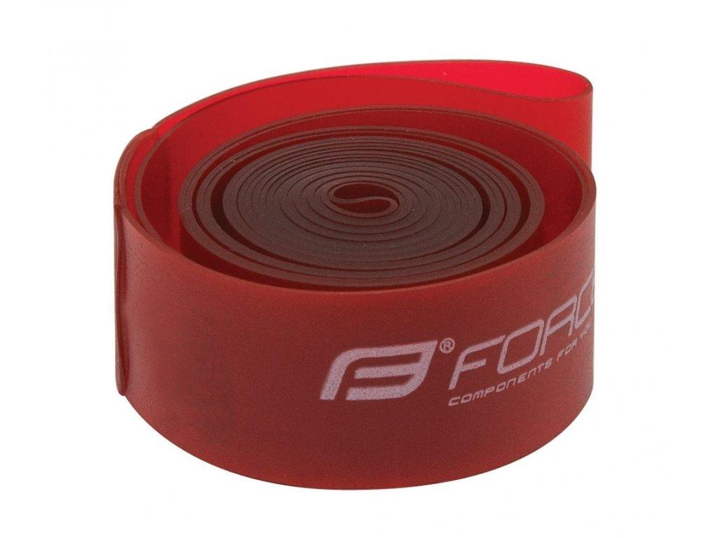 """Vložka ráfková Force 26"""" (559-22) krabička, červená"""