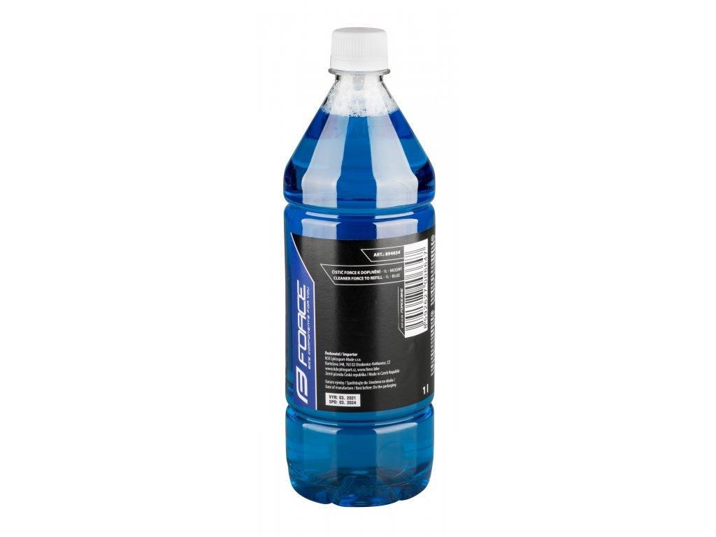 Čistič Force k doplnění - 1l - modrý