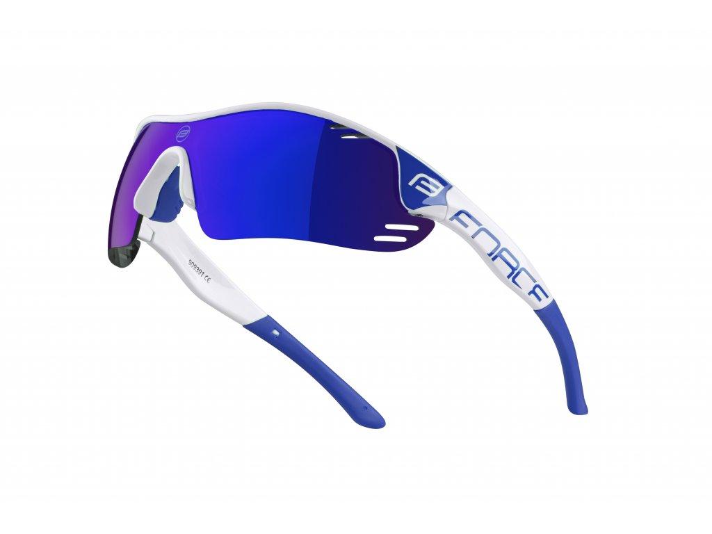 Cyklistické brýle Force RACE PRO, bílo-modré