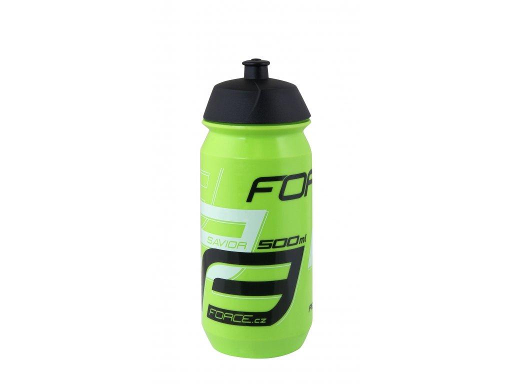 Láhev Force SAVIOR 0,5 l, zeleno-bílo-černá