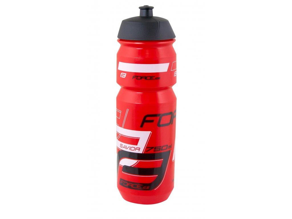 Láhev Force SAVIOR 0,75 l, červeno-černo-bílá