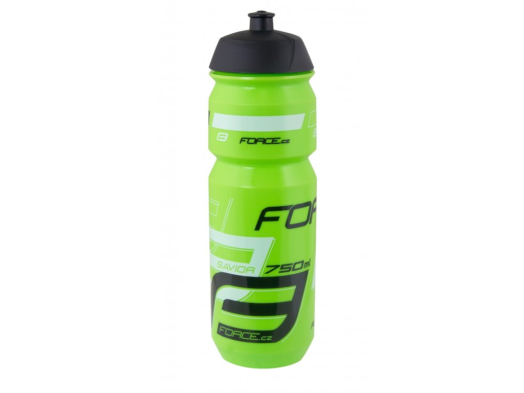 Láhev Force SAVIOR 0,75 l, zeleno-bílo-černá