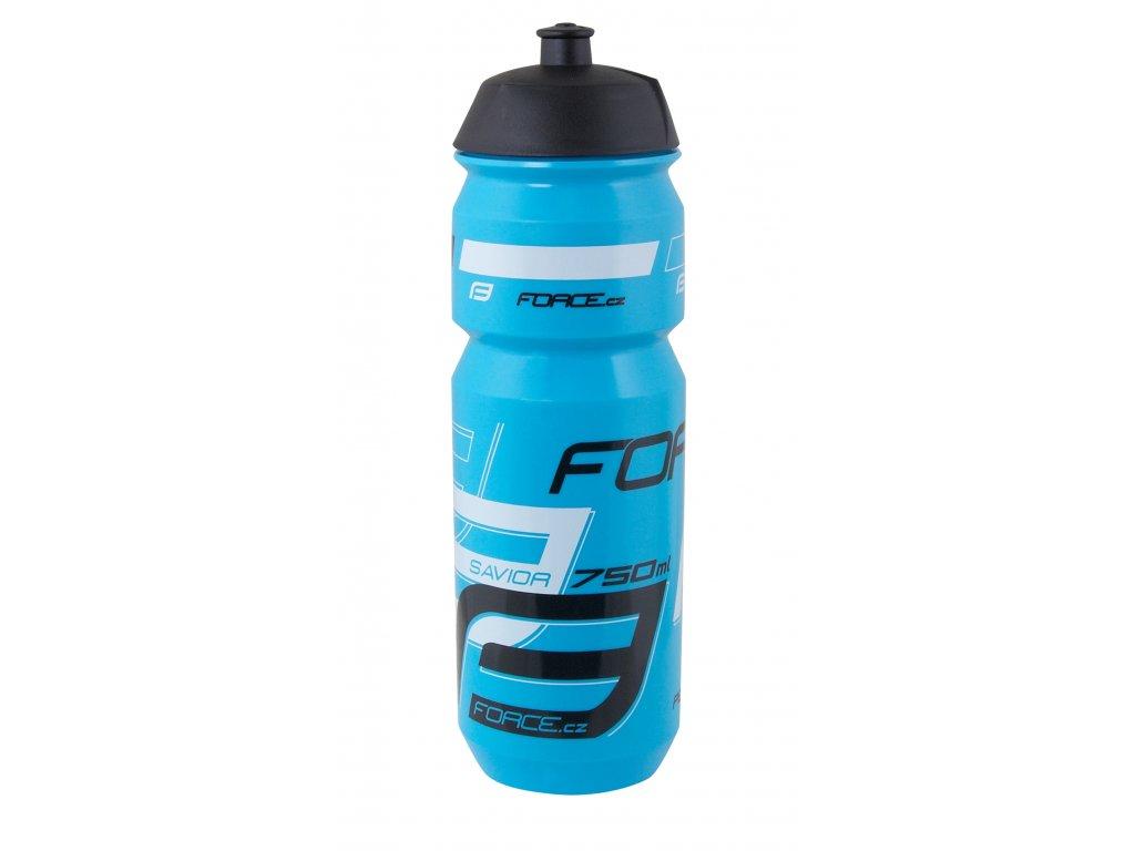 Láhev Force SAVIOR 0,75 l, modro-bílo-černá