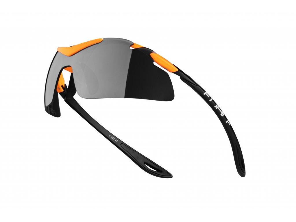 Cyklistické brýle Force DUKE, oranžovo-černé