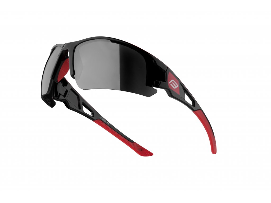 Cyklistické brýle Force CALIBRE, černo-červené
