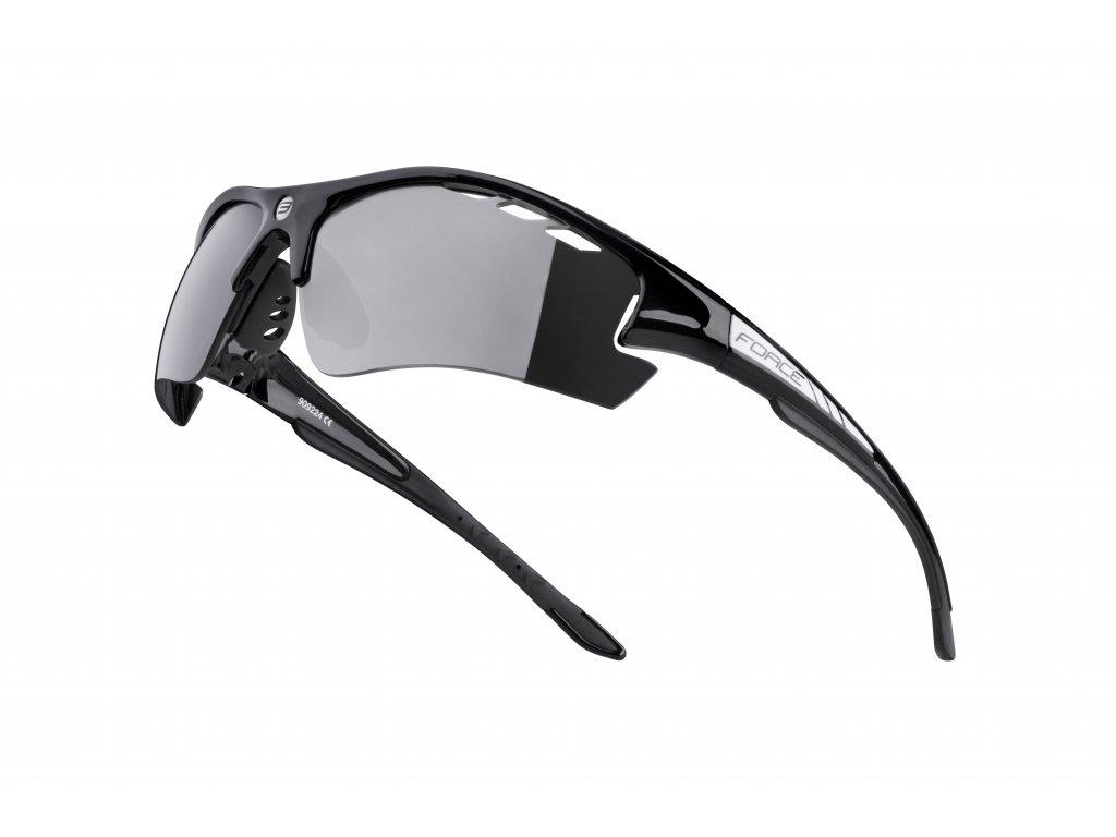 Cyklistické brýle Force RIDE PRO s dioptrickým klipem, černé