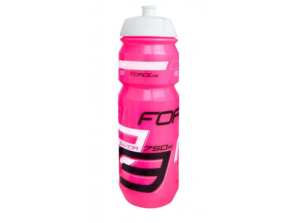 Láhev Force SAVIOR 0,75 l, růžovo-bílo-černá