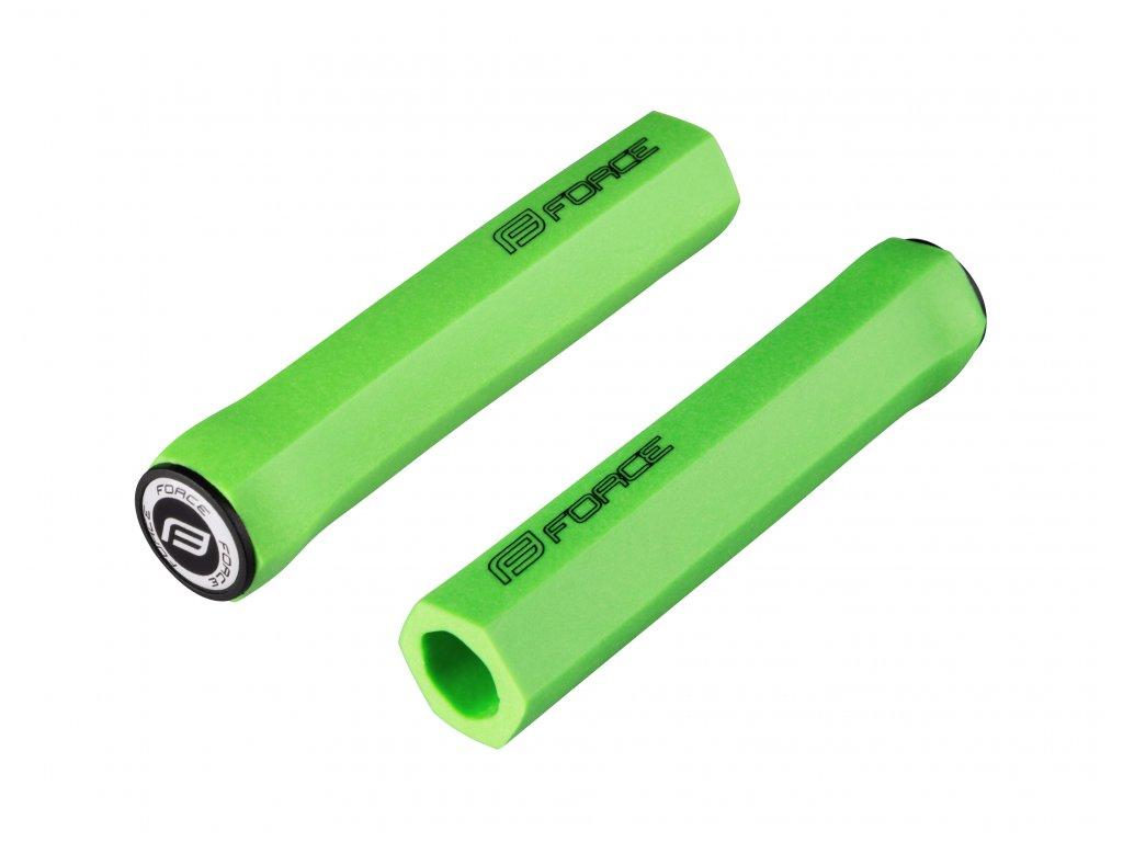 Madla Force HEX silikon-pěna, hranatá, zelená, balená