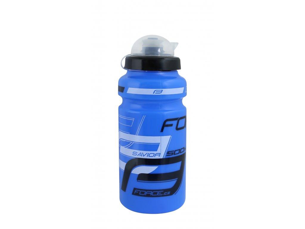 Láhev Force SAVIOR ULTRA 0,5 l, modro-bílo-černá