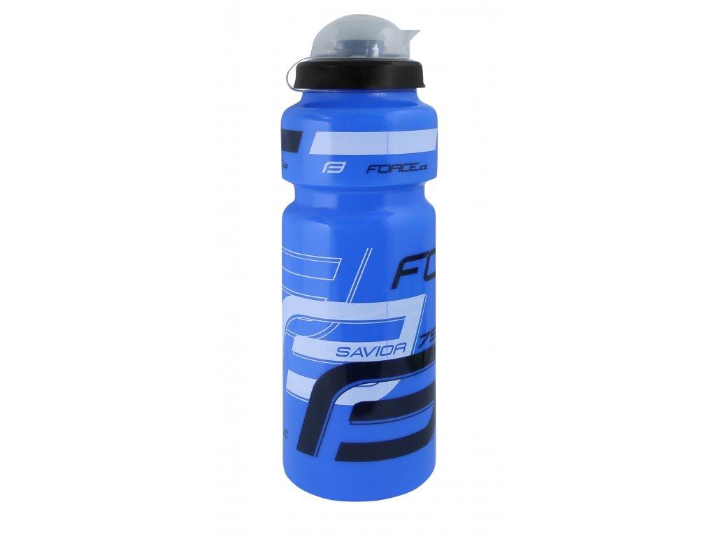 Láhev Force SAVIOR ULTRA 0,75 l, modro-bílo-černá