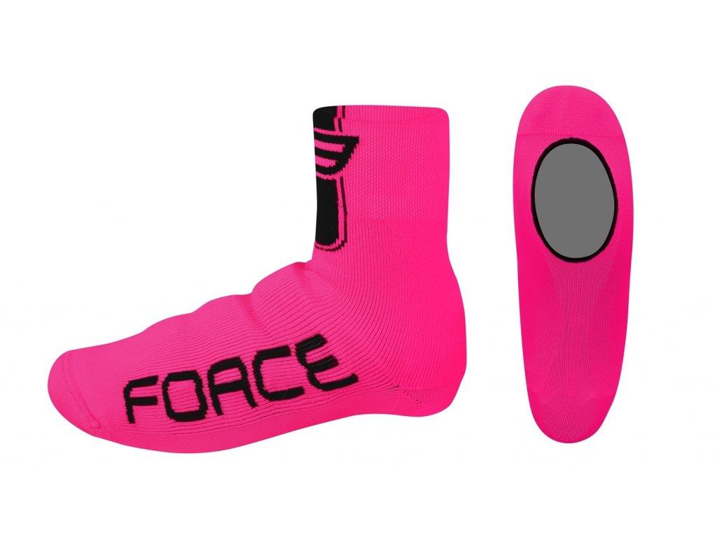 návleky treter Force pletené, růžové