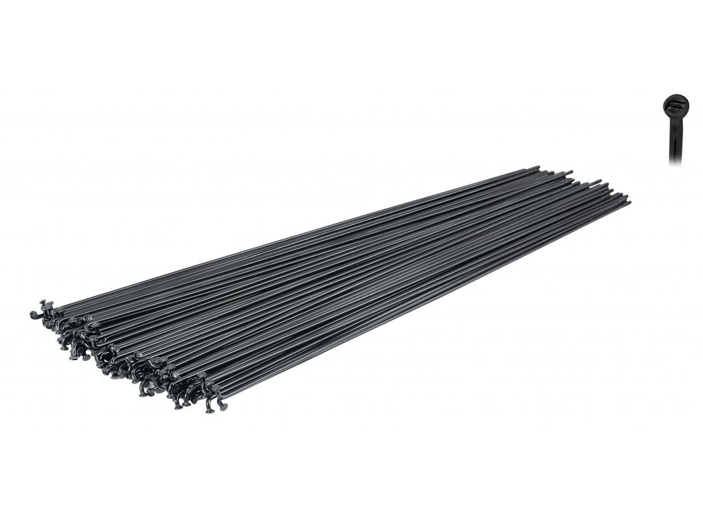 Dráty Force nerez černé 2 mm x 256 mm