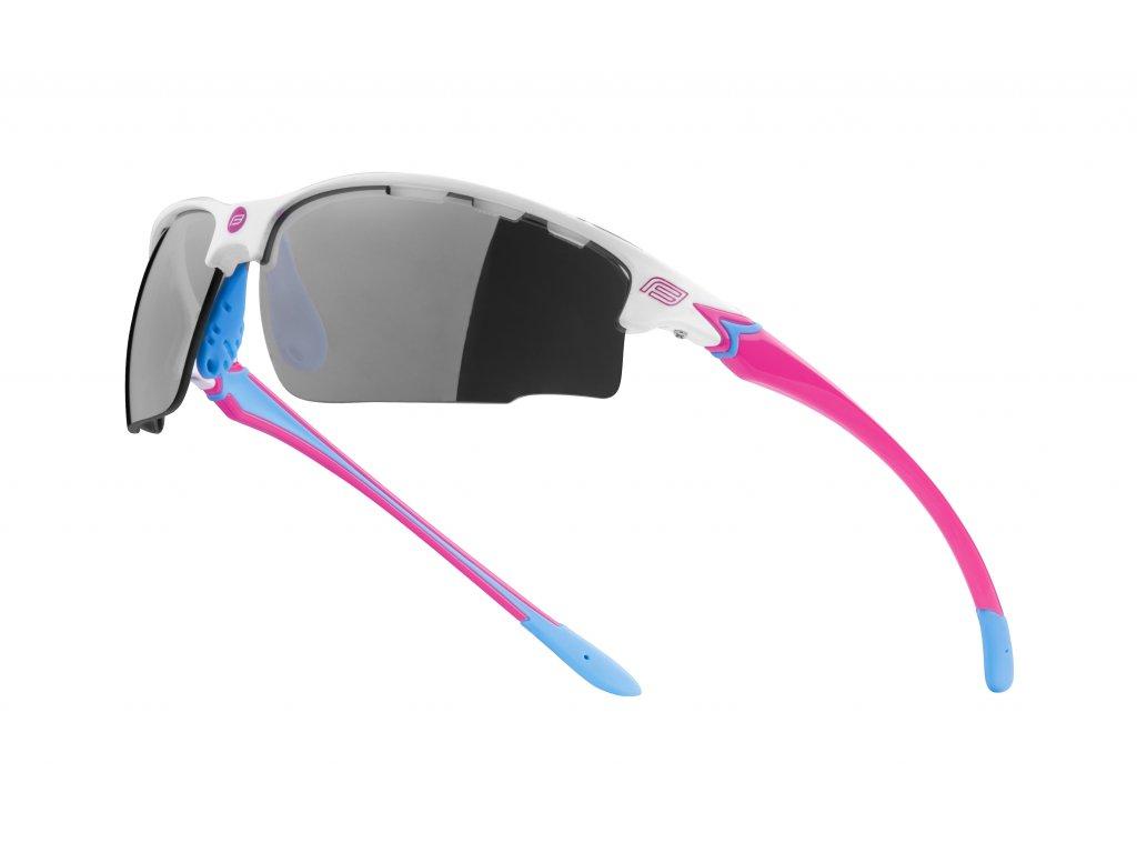 Cyklistické brýle Force QUEEN, bílo-růžové