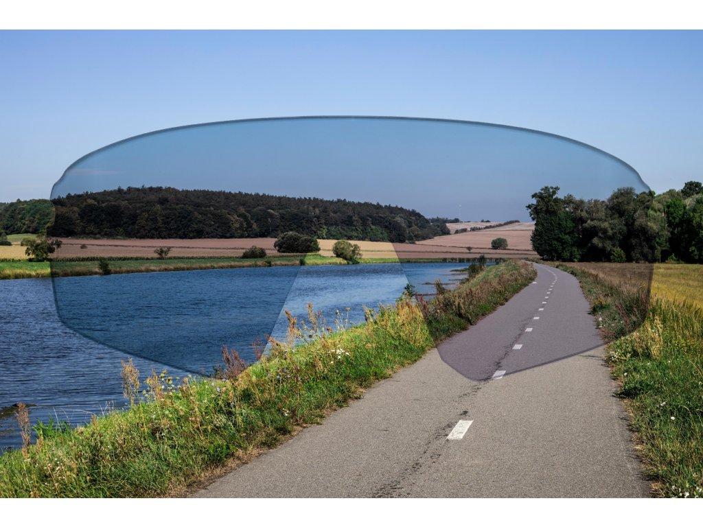 Brýle Force POKEY dětské, fluo-černé, černá skla